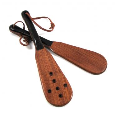 Boudoir Wood Paddle Exotic